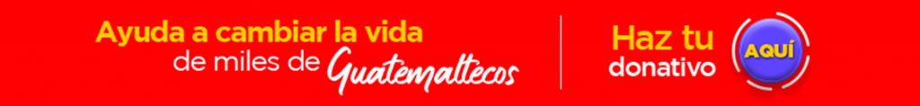 Teletón Guatemala donativos